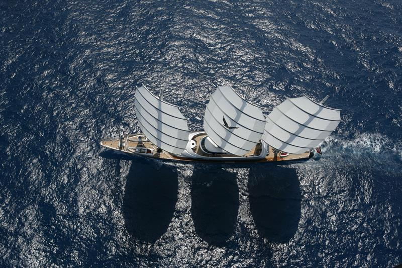 Maltese Falcon uses Dynarig  - photo © Southern Spars