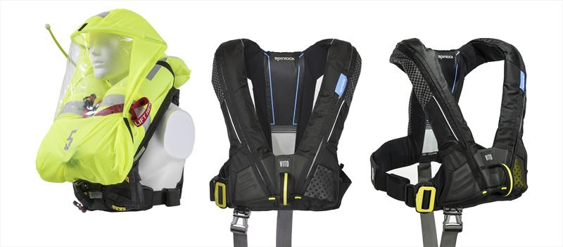 Spinlock launches the new Deckvest VITO lifejacket at Annapolis Boat Show
