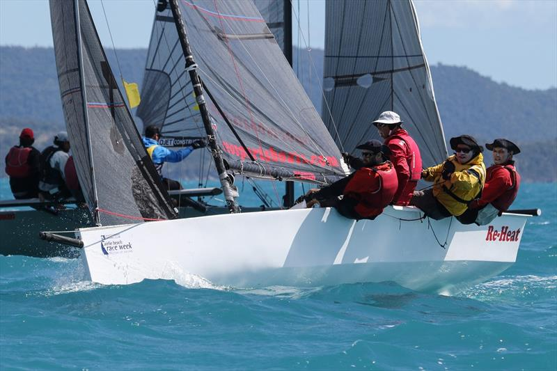 The Ratcliff's RE-Heat won the Sports Boats - Airlie Beach Race Week 2019 photo copyright Shirley Wodson taken at Whitsunday Sailing Club and featuring the Sportsboats class