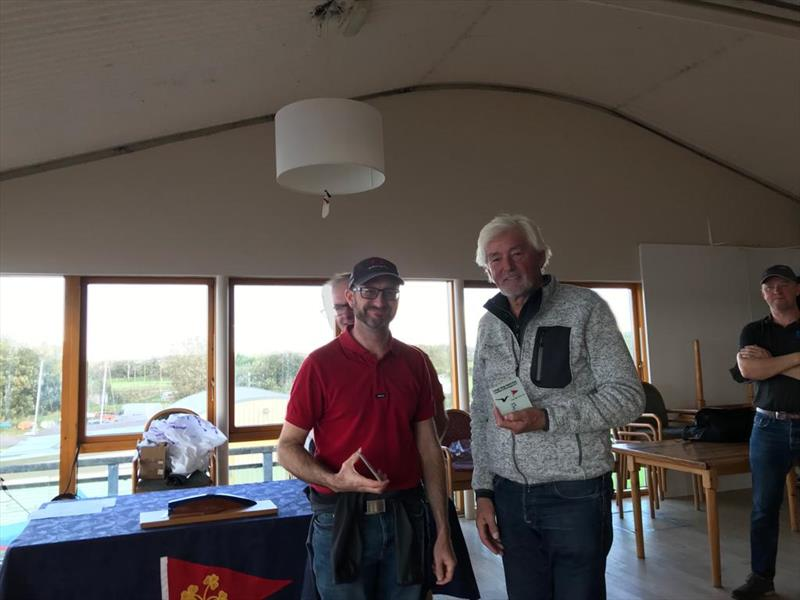 Martin 'flipper' Weatherstone and Fred Campbell finish 3rd in the Irish Squib Inlands at Lough Derg - photo © Fiona Ward