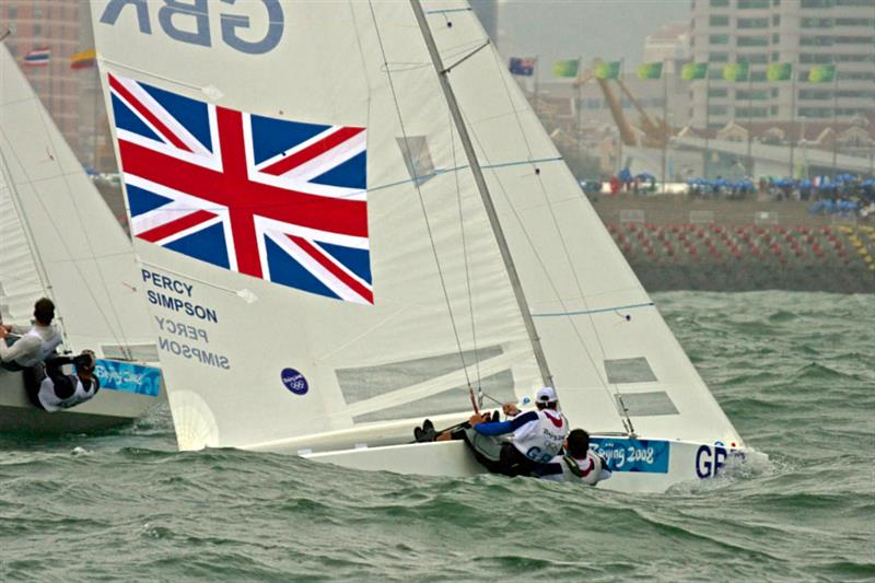 Capturing the sailors fighting the elements should be a focal point of TV coverage - 2008 Olympics - Star class - photo © Richard Gladwell
