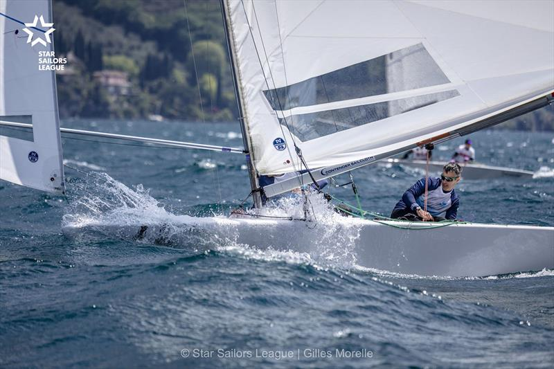 Training Day - Bow: 66 IRL 8527 / Skipper: Peter O'Leary / Crew: Robert O'Leary - 2019 Star European Championship and SSL Breeze Grand Slam - photo © Gilles Morelle