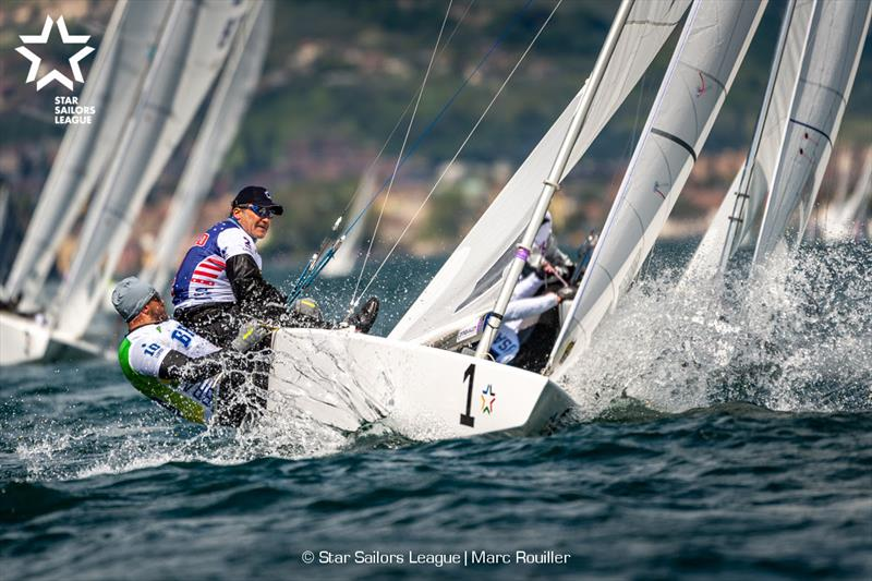 01 USA 8550 / Skipper: Paul Cayard / Crew: Arthur Lopes - 2019 Star European Championships and Star Sailors League Breeze Grand Slam - photo © Marc Rouiller