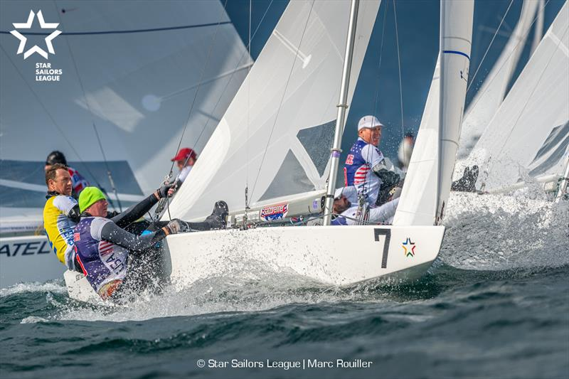 07 SWE 8442 / Skipper: Freedy LÓ§Ó§f / Crew: Brian Fatih; 15 USA 8423 / Skipper: Eric Doyle / Crew: Payson Infelise - 2019 Star European Championships and Star Sailors League Breeze Grand Slam - photo © Marc Rouiller
