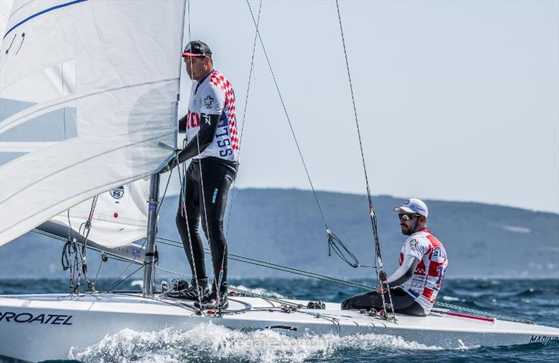Five-time European Laser champion and two-time Olympic medallist Tonci Stipanovic (Croatia) and his crewmate Tudor Bilic are definitely one of the top ten candidates. - photo © Hrvoje Duvancic / www.regate.com.hr