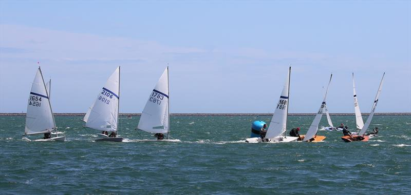 Mark rounding during the Noble Marine Streaker Nationals at the WPNSA - photo © Karen Langston
