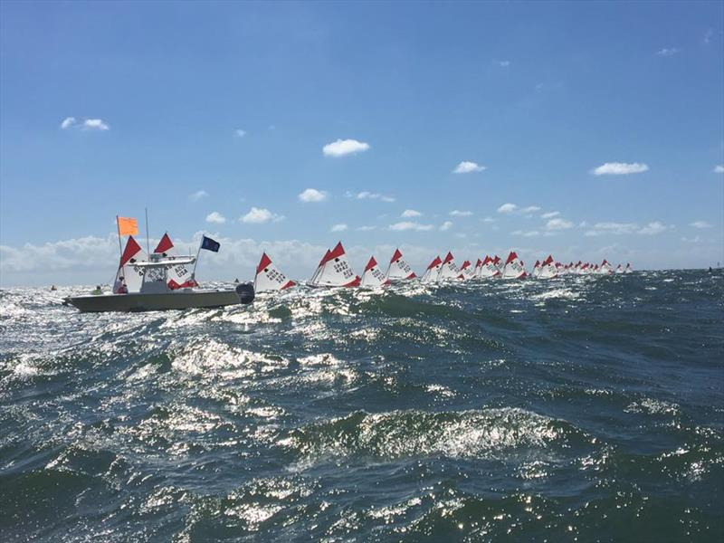 2018 ISCA World Championship - Day 2 - photo © International Sunfish Class Association