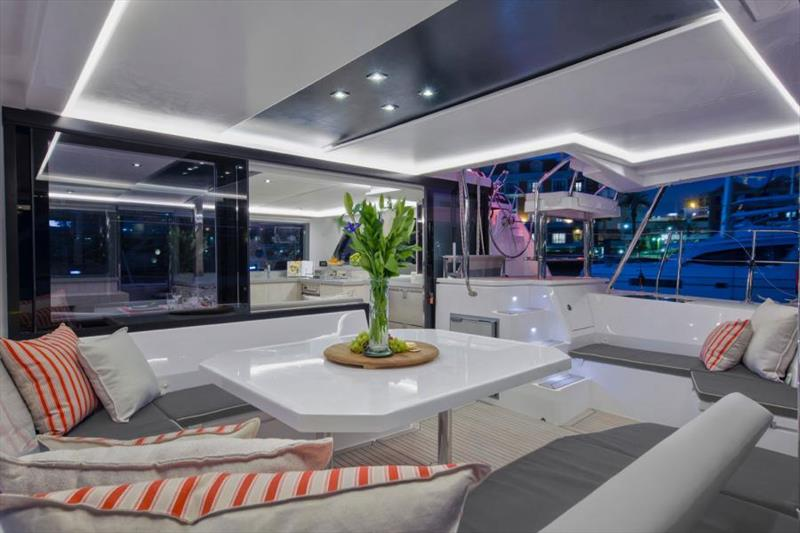 Sunsail upgrades the Sunsail 454 catamaran, adds popular features