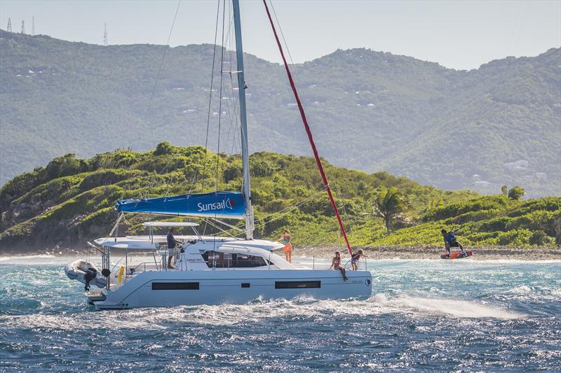 Sunsail catamaran - photo © Sunsail