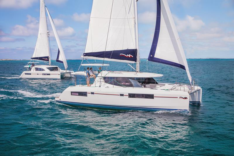 The Moorings catamarans in the Bahamas - photo © nautique.tv
