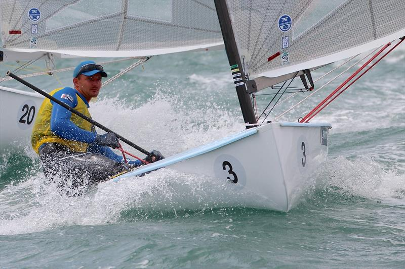 Giles Scott racing his Devoti D-Fantastica Finn - photo © Suntouched Sailboats