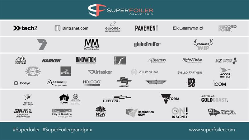 SuperFoiler Partners - photo © SuperFoiler Grand Prix