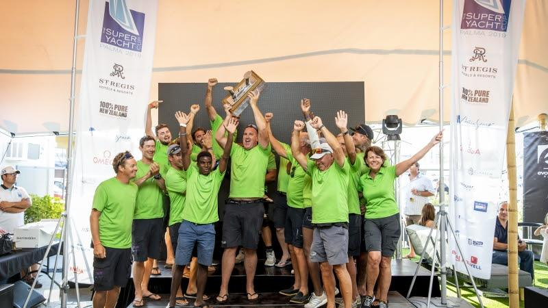 Win Win win at the 2019 Superyacht Cup Palma - photo © Sailing Energy
