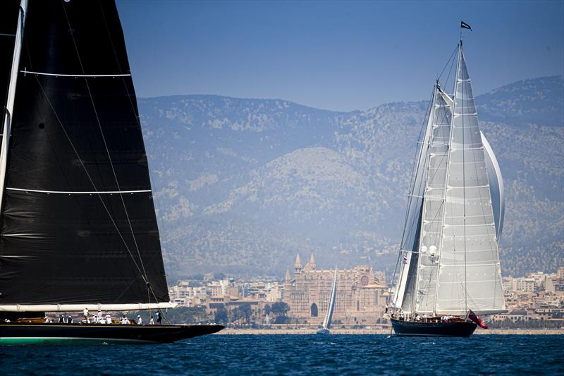 Meteor, the Royal Huisman 52m yacht, on the 2019 Superyacht Cup Palma final day - photo © Sailing Energy