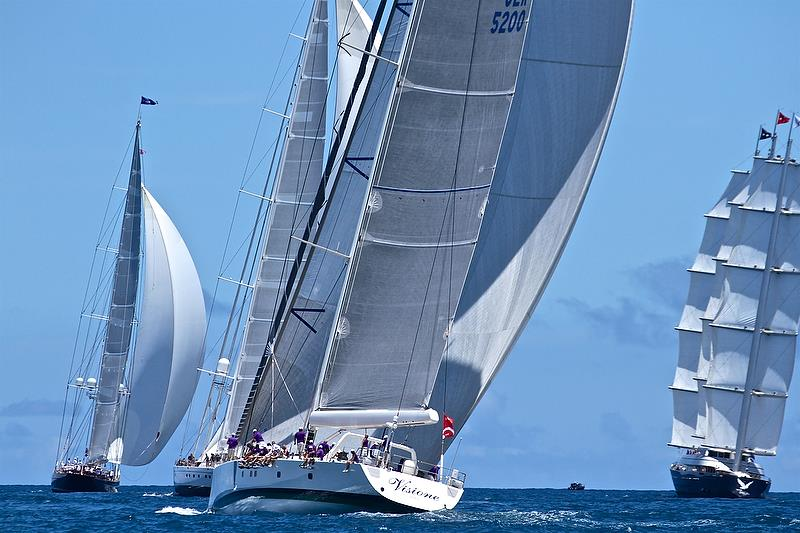 Superyacht racing is a vital part of the wider America's Cup event. - photo © Richard Gladwell