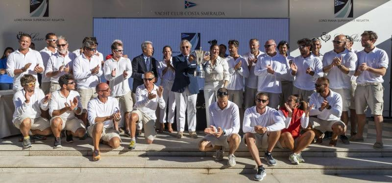 My Song winner of the Silver Jubilee Trophy, Loro Piana Superyacht Regatta 2018. - photo © YCCS / Borlenghi