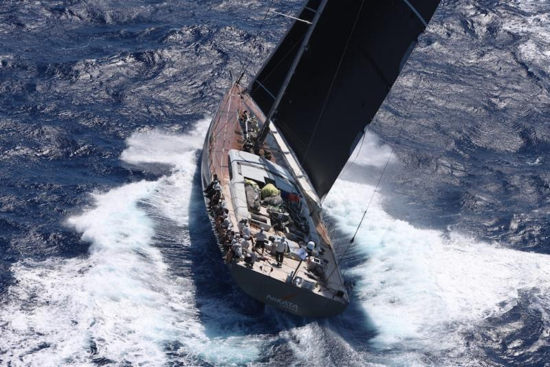 Superyacht Nikata was the winner of the Superyacht Class - RORC Caribbean 600 - photo © Tim Wright / Photoaction.com