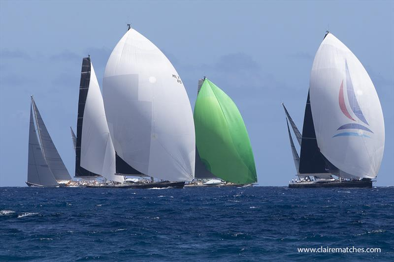 2020 Superyacht Challenge Antigua - Day 1 - photo © Claire Matches / www.clairematches.com