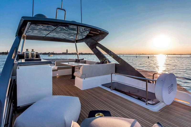 Ferretti 670 photo copyright Ferretti Yachts taken at  and featuring the Superyacht class
