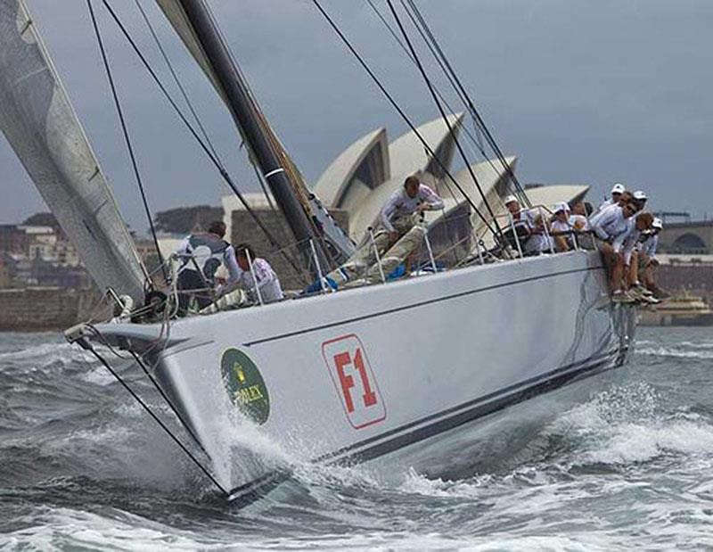 The all-conquering R/P100 built at McConaghy's - Neville Crichton's Alfa Romeo II photo copyright Rolex / Daniel Forster taken at Cruising Yacht Club of Australia and featuring the Superyacht class