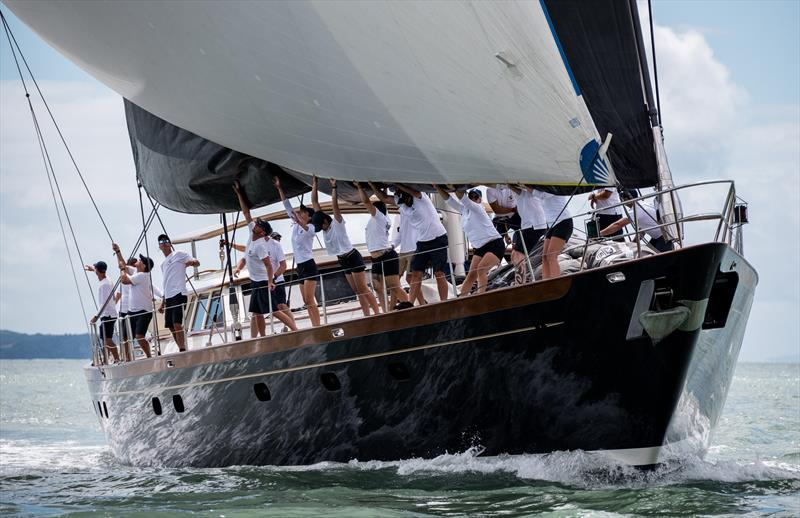 Day 4 - Mastercard Superyacht Regatta - February 27, 2021 - Royal New Zealand Yacht Squadron - photo © Jeff Brown