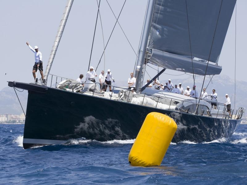 SY Saudade - Superyacht Cup Palma - photo © Claire Matches / www.clairematches.com