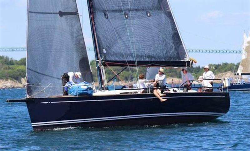 It's a Swan takeover in the IRC division so far with Ed Whitmore's Swan 45, Ticket to Ride, joining the fleet - Block Island Race Week photo copyright Storm Trysail Club taken at Storm Trysail Club and featuring the Swan class