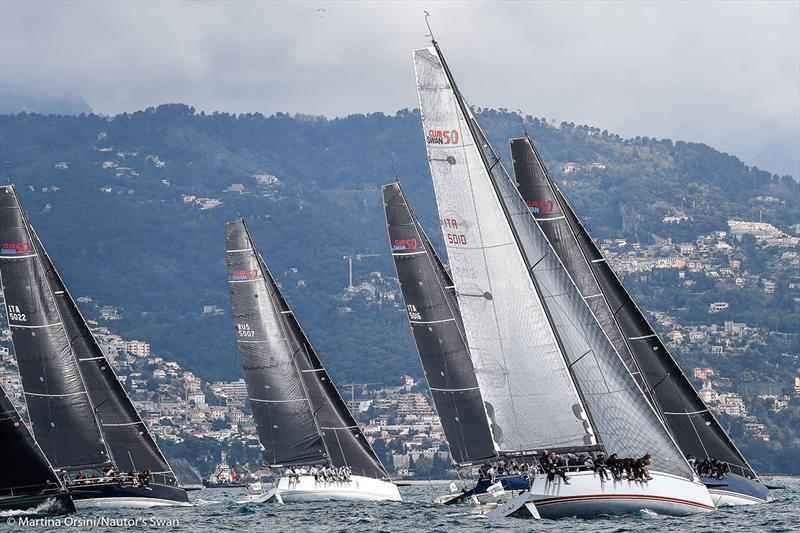 2019 Monaco Swan One Design - Day 1 - photo © Martina Orsini
