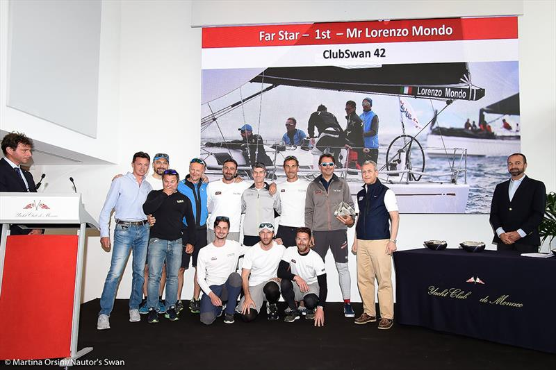 2019 Monaco Swan One Design - photo © Martina Orsini