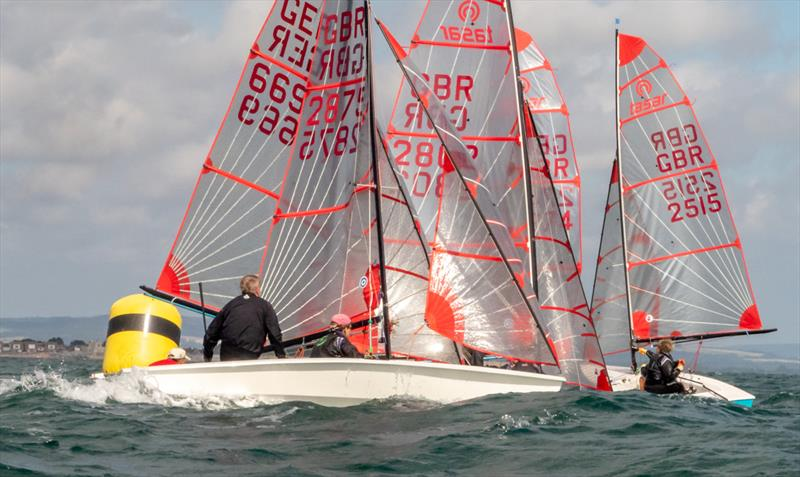 Tasar Nationals at Hayling Island photo copyright Peter Hickson taken at Hayling Island Sailing Club and featuring the Tasar class