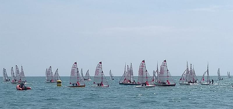 Tasar World Championship at Hayling Island Sailing Club - Day 4