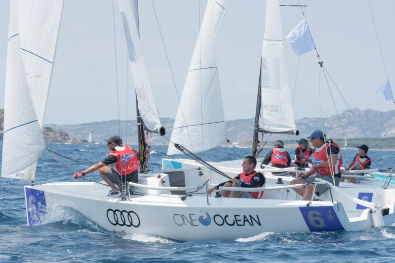 YCCS team, Audi Invitational Team Racing Challenge 2018 - photo © YCCS / Nonnoi