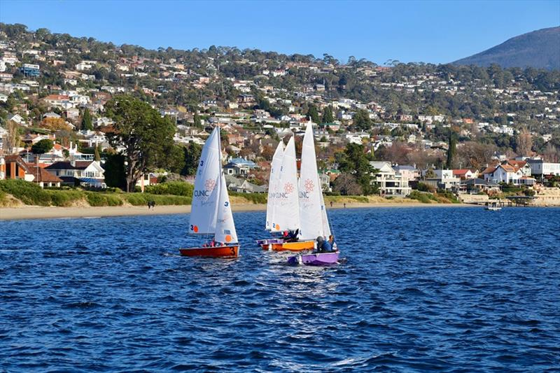 Final day at Australian Secondary Schools Team Racing Championships - photo © Sam Tiedemann
