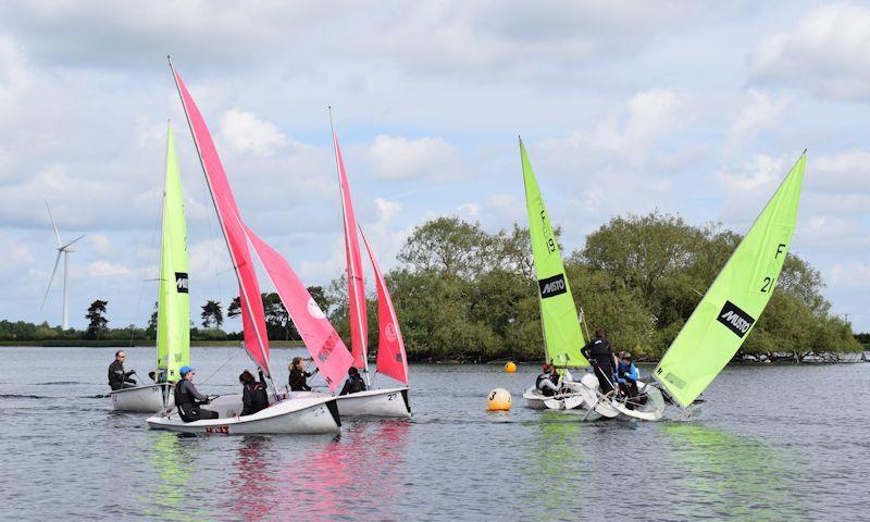 Birmingham University Old Joe Team Racing at South Staffordshire Sailing Club