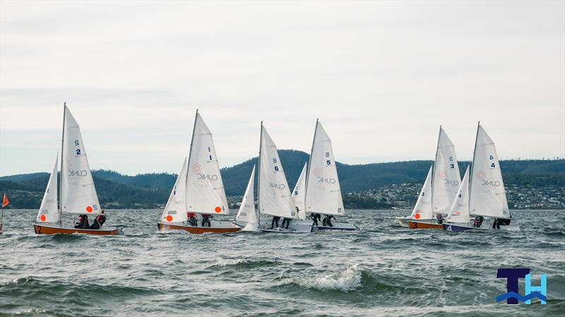 Australian schools team racing on the Derwent in June won by Scots College Sydney with Ascham School winning the girls event. - photo © Tom Hodge Media