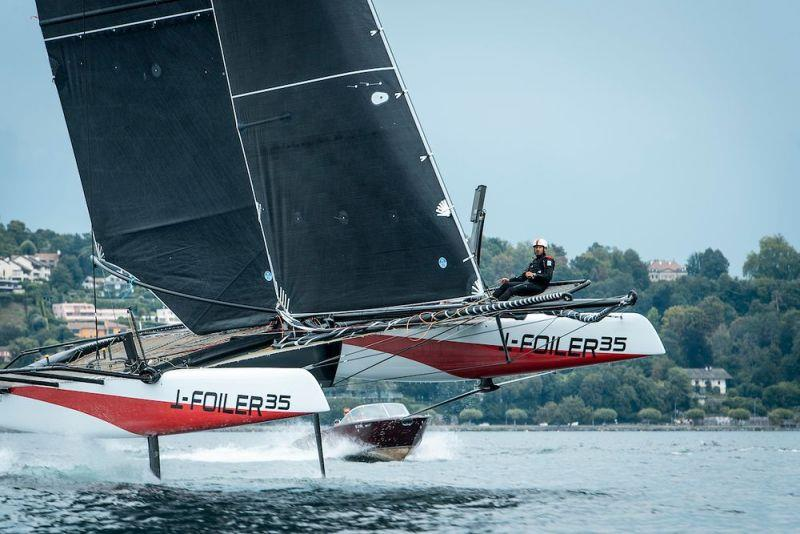 The TF35 will undertake a period of testing before the official launch in September - photo © Loris Von Siebenthal