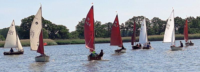 Tideway Lew Walker Challenge Cup 2019 at Hickling Broad - photo © Diana Lindsey