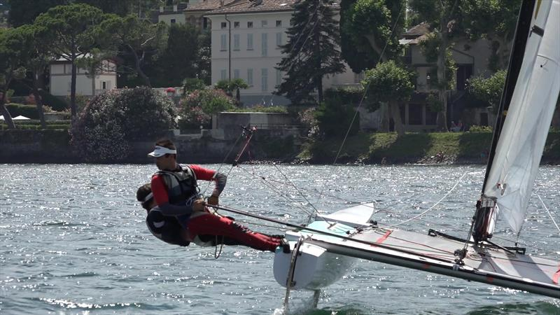 Tornado Europeans at Lake Como day 4 - photo © Icarus Sailing Media