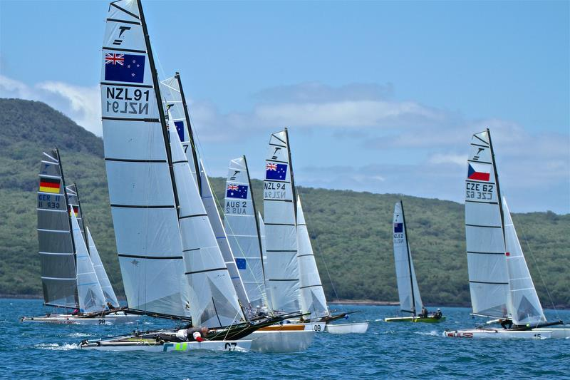 Day 3 - 2019 Int Tornado Class World Championships presented by Candida. January 7, 2019 photo copyright Richard Gladwell taken at Takapuna Boating Club and featuring the Tornado class