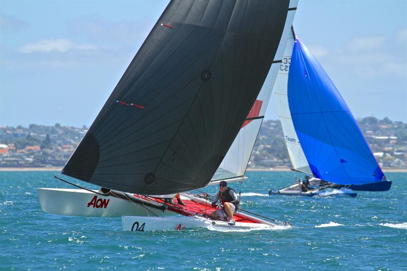 Julian Tankard and Simon Cooke (NZL) - Race 5 - Int Tornado Worlds - Day 3, presented by Candida, January 7, - photo © Richard Gladwell