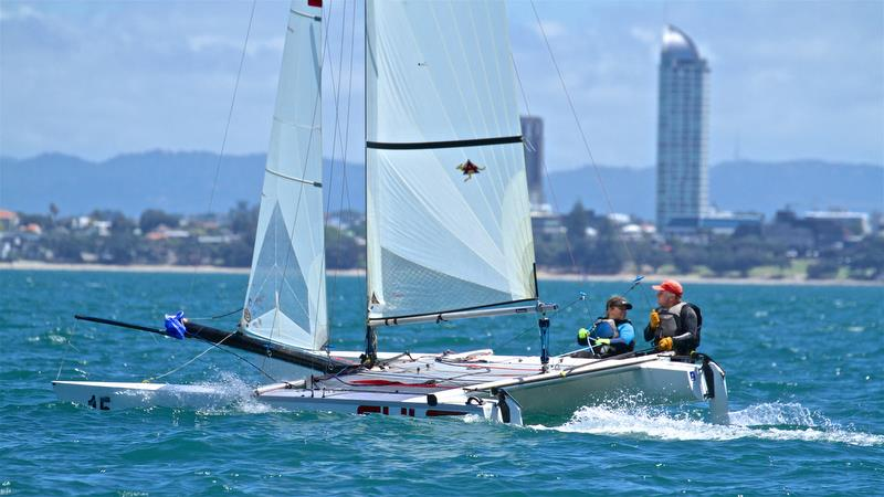 Race 6 - Int Tornado Worlds - Day 3, presented by Candida, January 7, - photo © Richard Gladwell