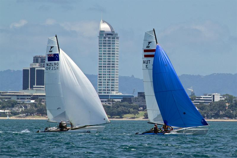 Race 5 Int Tornado Worlds - Day 3, presented by Candida, January 7, - photo © Richard Gladwell