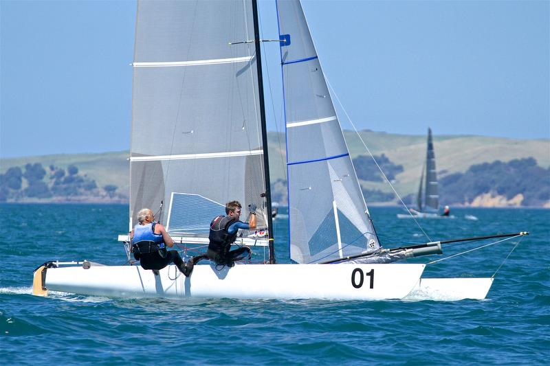 Rex and Brett Sellers - Race 6 - Int Tornado Worlds - Day 3, presented by Candida, January 7, - photo © Richard Gladwell
