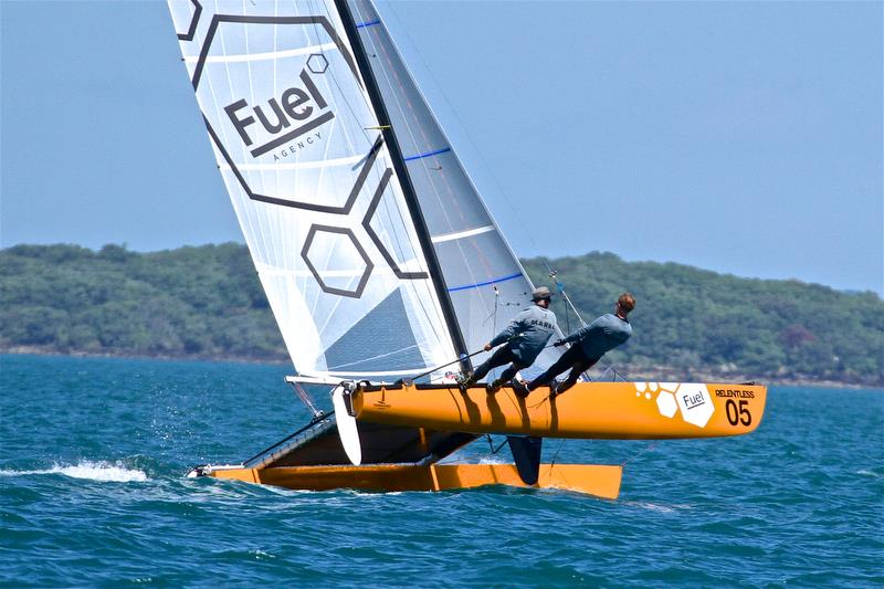 Jason Marra and Brendon Duske (NZL) - Race 6 - Int Tornado Worlds - Day 3, presented by Candida, January 7, - photo © Richard Gladwell