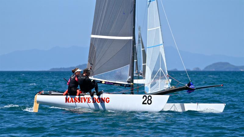 Estela Jentsch and Daniel Brown (GER) - 2017 Worlds Bronze medalists - Race 6 - Int Tornado Worlds - Day 3, presented by Candida, January 7, - photo © Richard Gladwell