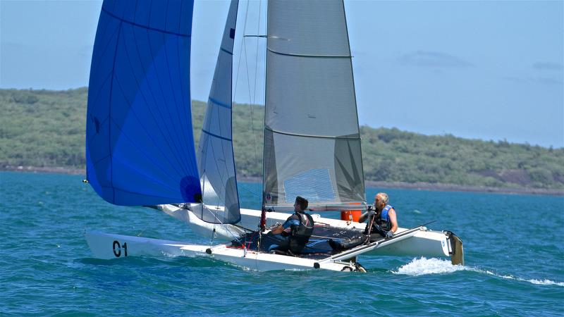 Rex and Brett Sellers - win Race 6 - Int Tornado Worlds - Day 3, presented by Candida, January 7, - photo © Richard Gladwell