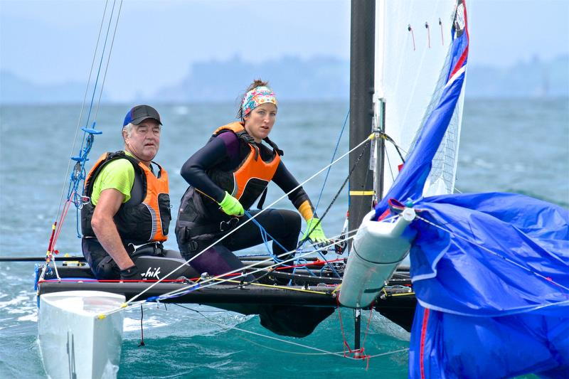 Dieter and Sylvia Salzmann (AUT) - Int Tornado Worlds - Day 5, presented by Candida, January 10, 2019 - photo © Richard Gladwell