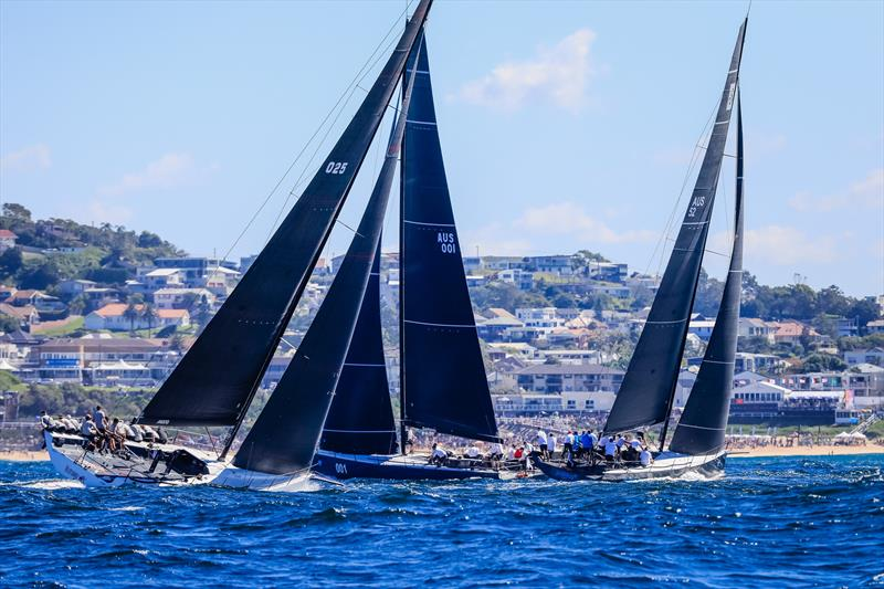 TP52 Gold Cup at SailFest Newcastle © Salty Dingo