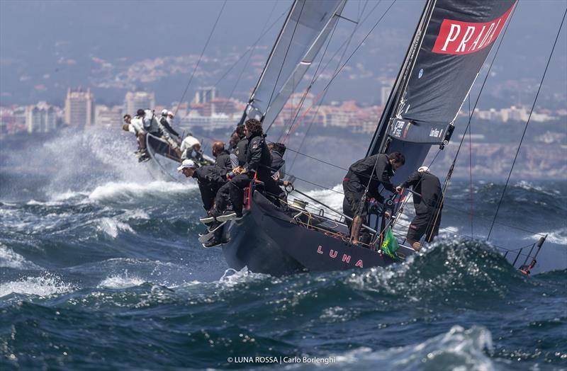 52 Super Series: Race Day 4 Luna Rossa TP52, Cascais, Portugal - photo © Carlo Borlenghi