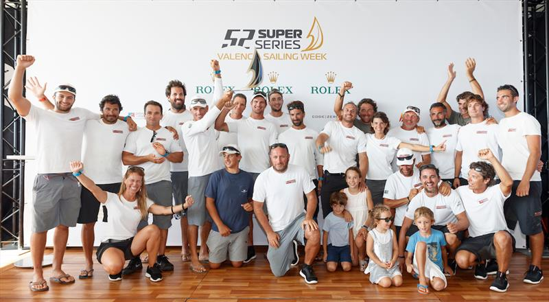 52 Super Series Valencia Sailing Week day 5 celebrations - photo © Nico Martinez / 52 Super Series